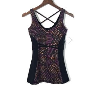 FABLETICS Purple Hawthorne Tank Top XS NWT